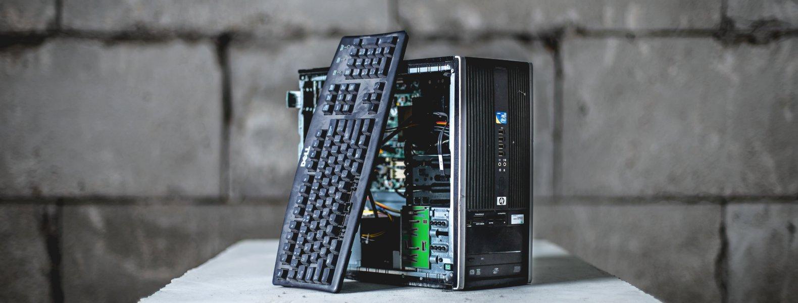 Computer recyclen