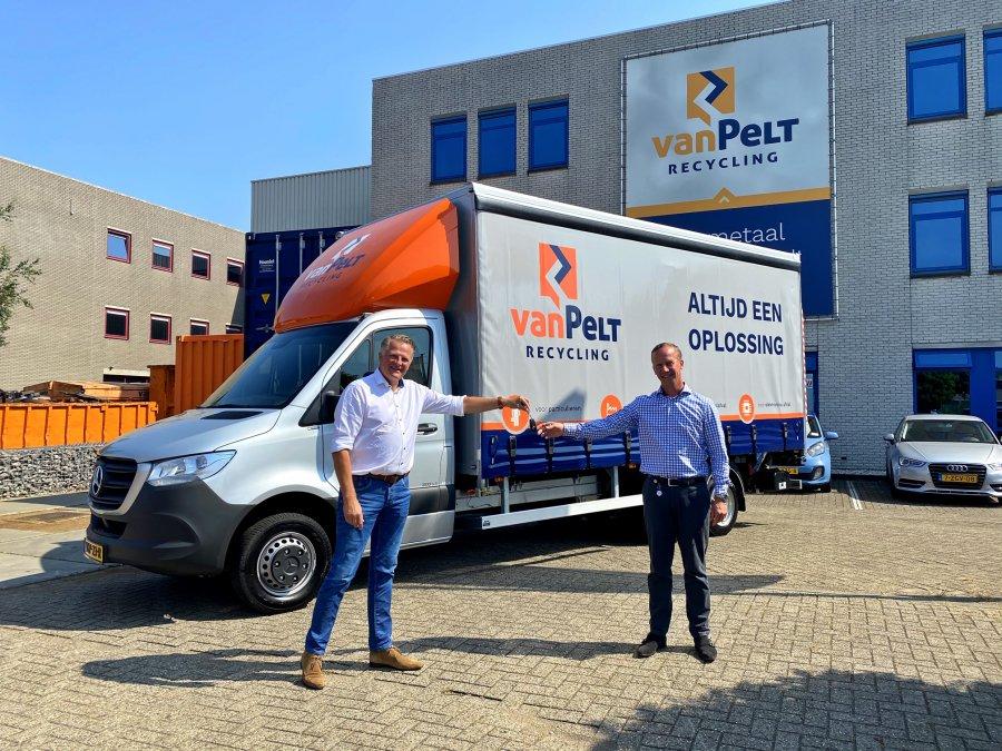 Van Pelt Recycling elektronica