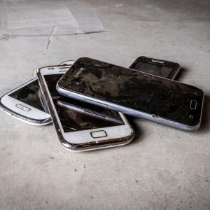 Oude telefoons recyclen