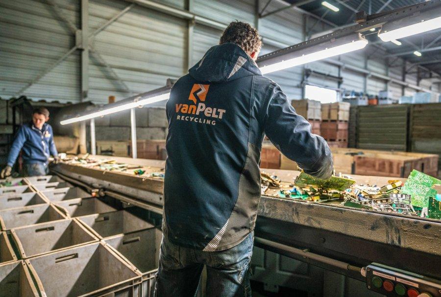 Printplaten Recycling bij van Pelt
